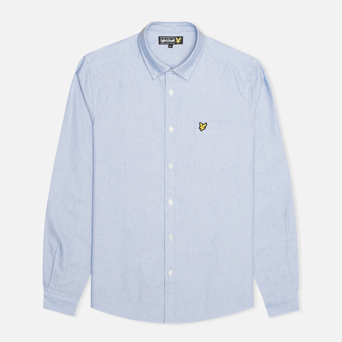 Мужская рубашка Lyle & Scott Traditional Gingham French Navy