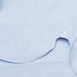 Мужская рубашка Maison Kitsune Tricolor Patch Classic Blue фото- 4