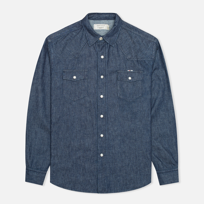 Мужская рубашка Maison Kitsune Western Raw