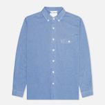 Мужская рубашка Nanamica Wind Blue фото- 0