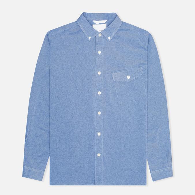Мужская рубашка Nanamica Wind Blue