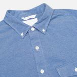 Мужская рубашка Nanamica Wind Blue фото- 1