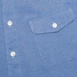 Мужская рубашка Nanamica Wind Blue фото- 2