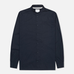 Мужская рубашка Norse Projects Aaron Crisp Poplin LS Dark Navy фото- 0