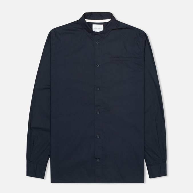 Мужская рубашка Norse Projects Aaron Crisp Poplin LS Dark Navy