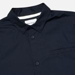 Мужская рубашка Norse Projects Aaron Crisp Poplin LS Dark Navy фото- 1