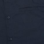 Мужская рубашка Norse Projects Aaron Crisp Poplin LS Dark Navy фото- 3