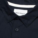 Мужская рубашка Norse Projects Aaron Crisp Poplin LS Dark Navy фото- 2