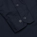 Мужская рубашка Norse Projects Aaron Crisp Poplin LS Dark Navy фото- 4