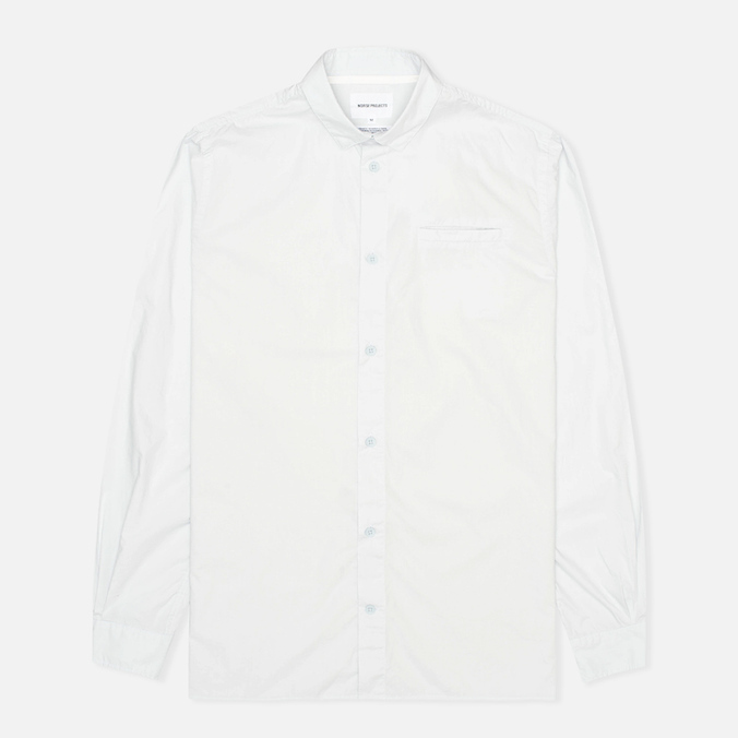 Мужская рубашка Norse Projects Aaron Crisp Poplin LS Pale Blue