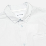 Мужская рубашка Norse Projects Aaron Crisp Poplin LS Pale Blue фото- 1