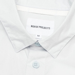Мужская рубашка Norse Projects Aaron Crisp Poplin LS Pale Blue фото- 2