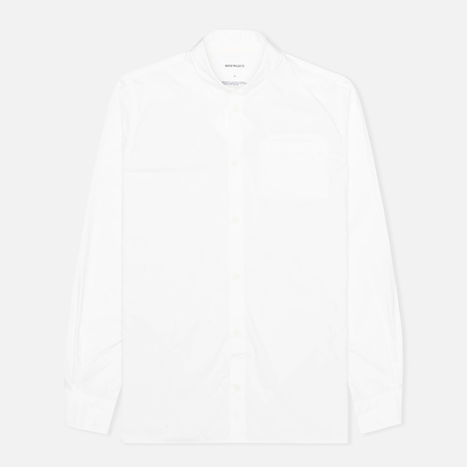 Мужская рубашка Norse Projects Aaron Crisp Poplin LS White