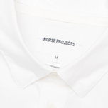 Мужская рубашка Norse Projects Aaron Crisp Poplin LS White фото- 2