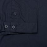 Мужская рубашка Norse Projects Aaron Crisp Poplin SS Dark Navy фото- 4