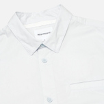 Мужская рубашка Norse Projects Aaron Crisp Poplin SS Pale Blue фото- 1