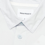 Мужская рубашка Norse Projects Aaron Crisp Poplin SS Pale Blue фото- 2