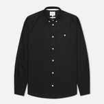 Мужская рубашка Norse Projects Anton Oxford LS Black фото- 0