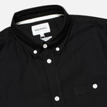 Мужская рубашка Norse Projects Anton Oxford LS Black фото- 1