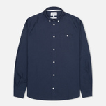 Мужская рубашка Norse Projects Anton Oxford LS Dark Navy фото- 0