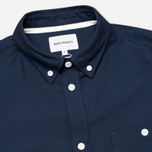 Мужская рубашка Norse Projects Anton Oxford LS Dark Navy фото- 1