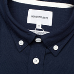 Мужская рубашка Norse Projects Anton Oxford LS Dark Navy фото- 2