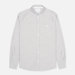 Мужская рубашка Norse Projects Anton Oxford LS Light Grey фото- 0