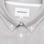 Мужская рубашка Norse Projects Anton Oxford LS Light Grey фото- 2