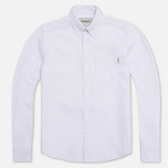 Женская рубашка Carhartt WIP X' Buck White Rinsed фото- 0