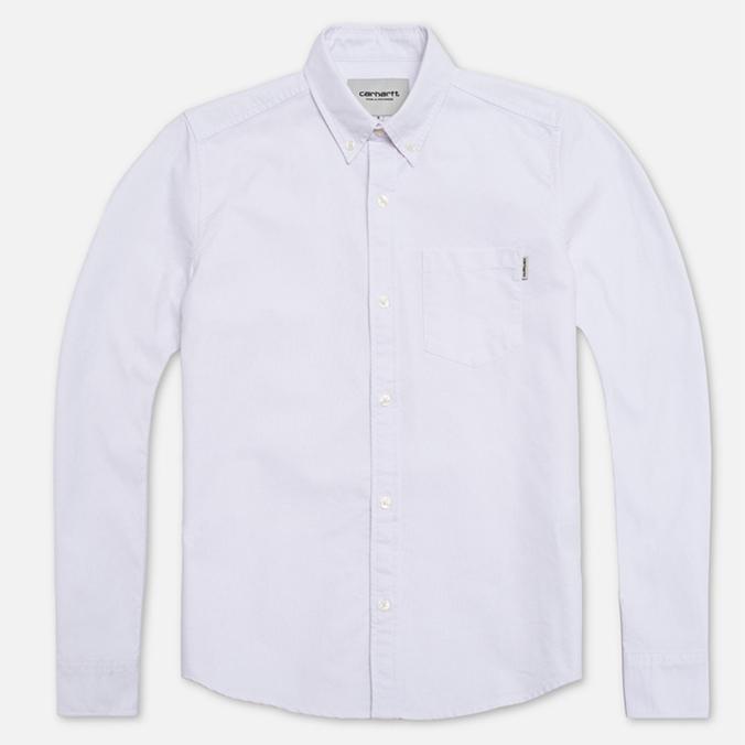 Женская рубашка Carhartt WIP X' Buck White Rinsed