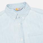 Женская рубашка Carhartt WIP X' Civil Blue Stone Bleached фото- 1