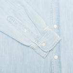 Женская рубашка Carhartt WIP X' Civil Blue Stone Bleached фото- 3