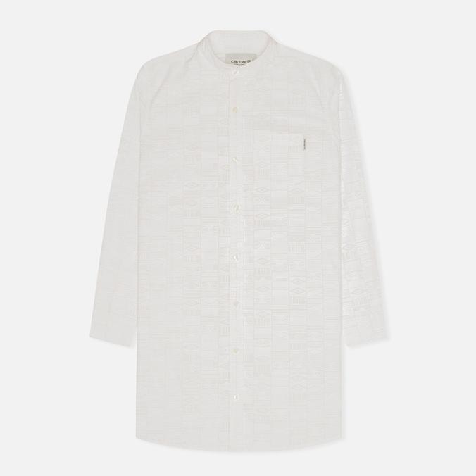 Женская рубашка Carhartt WIP X' Freya Long Apache Print White