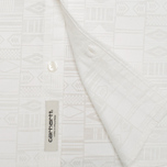 Женская рубашка Carhartt WIP X' Freya Long Apache Print White фото- 3