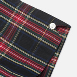 Женская рубашка Fred Perry Laurel Button Down Tartan Short Sleeve Black фото- 3