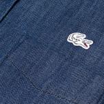 Женская рубашка Lacoste Live Shirt Indigo фото- 2