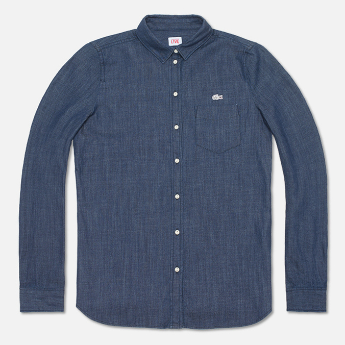 Женская рубашка Lacoste Live Shirt Indigo