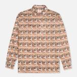Женская рубашка Lacoste Live Vintage Graphic Woven Floral фото- 0