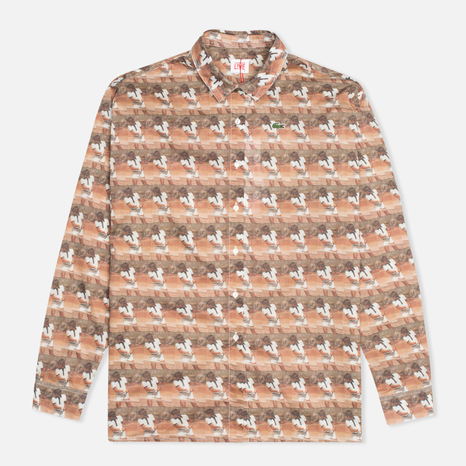 Женская рубашка Lacoste Live Vintage Graphic Woven Floral