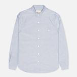 Женская рубашка Maison Kitsune Embroidery Fox Classic Navy фото- 0