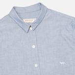 Женская рубашка Maison Kitsune Embroidery Fox Classic Navy фото- 1