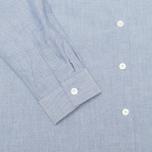 Женская рубашка Maison Kitsune Embroidery Fox Classic Navy фото- 3