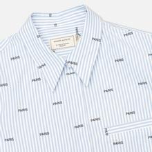 Женская рубашка Maison Kitsune Paris Joe Blue Stripe фото- 1