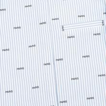 Женская рубашка Maison Kitsune Paris Joe Blue Stripe фото- 3