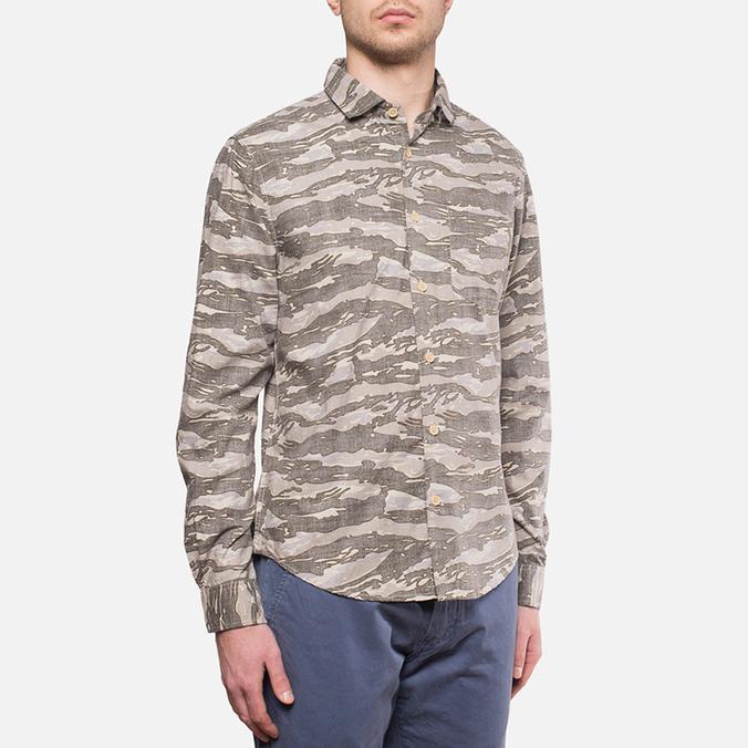 Мужская рубашка Woolrich Bruce Camo Moss