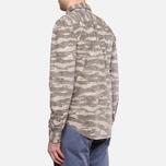 Мужская рубашка Woolrich Bruce Camo Moss фото- 3