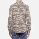 Мужская рубашка Woolrich Bruce Camo Moss фото- 4