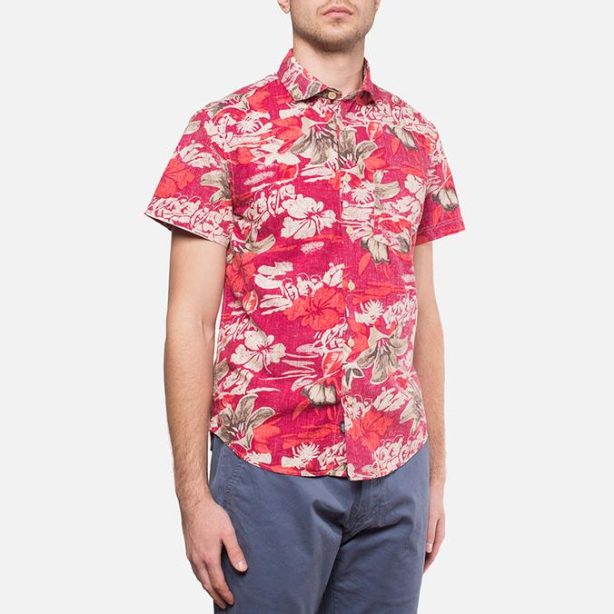 Мужская рубашка Woolrich Bruce Cherry Red