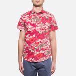 Мужская рубашка Woolrich Bruce Cherry Red фото- 5