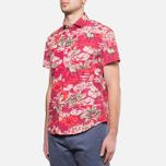 Мужская рубашка Woolrich Bruce Cherry Red фото- 1